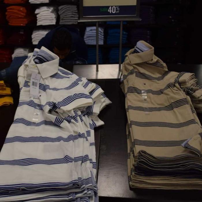 חולצת פולו טומי הילפיגר 32$ ג'רזי גרדנס גברים