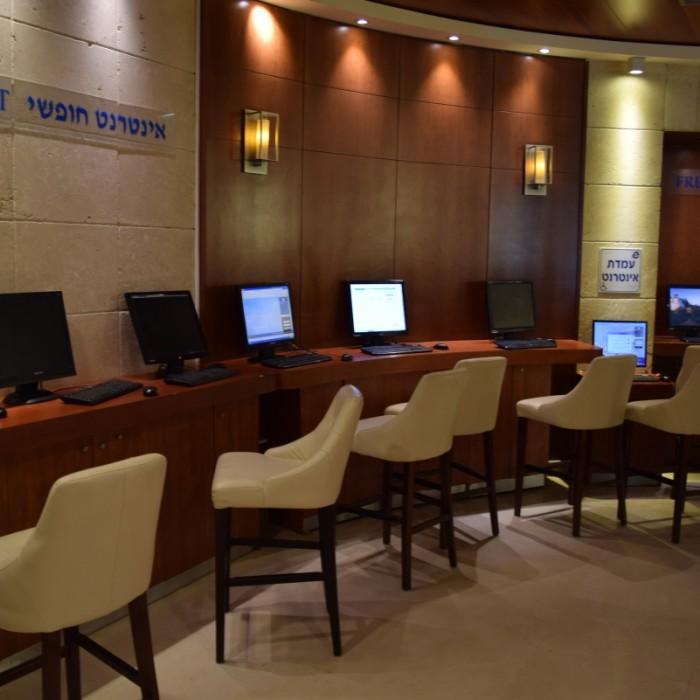 מחשבים לשימוש חופשי מלון הוד המדבר ים המלח