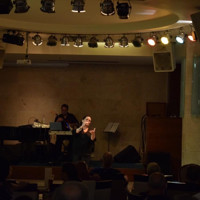 הופעה בערב מלון הוד המדבר ים המלח