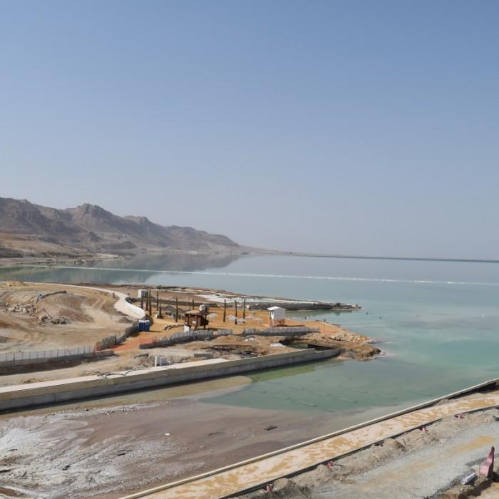 הנוף מהחדר מלון הוד המדבר ים המלח
