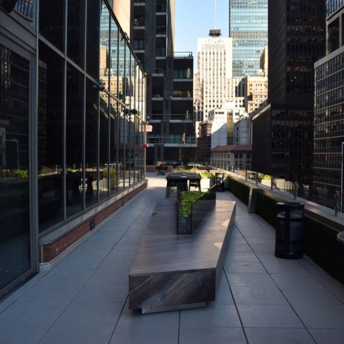 המרפסת מלון נובוטל ניו יורק