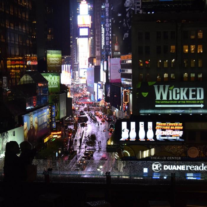 המרפסת בלילה מלון נובוטל ניו יורק