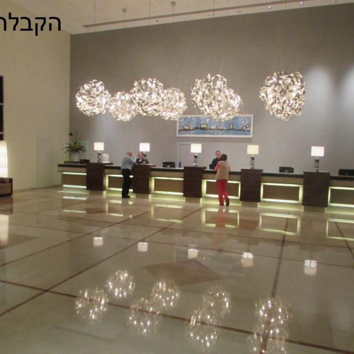 הקבלה מלון ישרוטל ים המלח