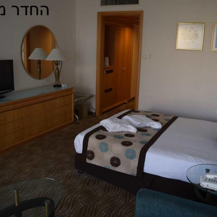 החדר ביום מלון ישרוטל ים המלח