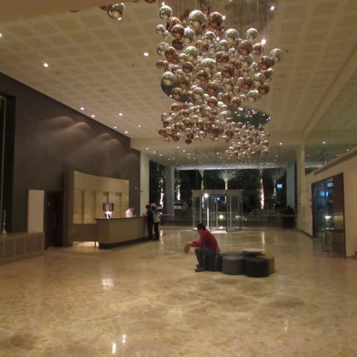 הכניסה למלון מלון ישרוטל גנים ים המלח