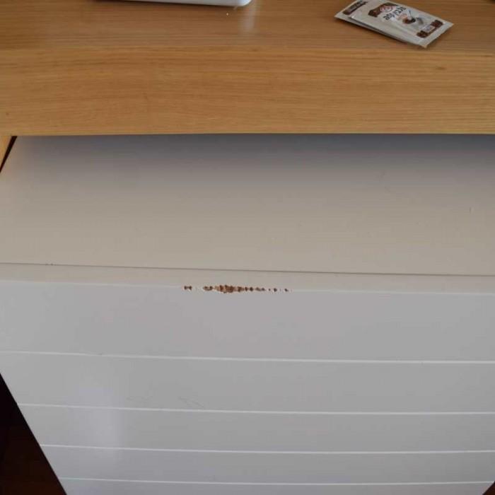 דוגמאות לפגמים שהיו בחדר שקיבלתי מלון לאונרדו קלאב ים המלח