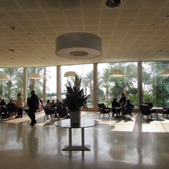 הכניסה מלון לאונרדו קלאב ים המלח