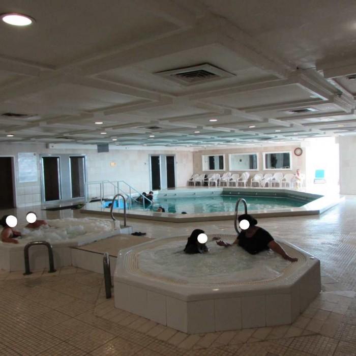 מבט כללי על הספא מלון לאונרדו קלאב ים המלח