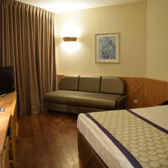 החדר מלון לאונרדו פריוילג' ים המלח