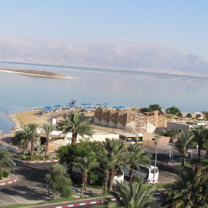 הנוף מהחדר מלון אואזיס ים המלח