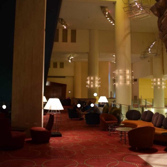 הלובי מלון דן אילת