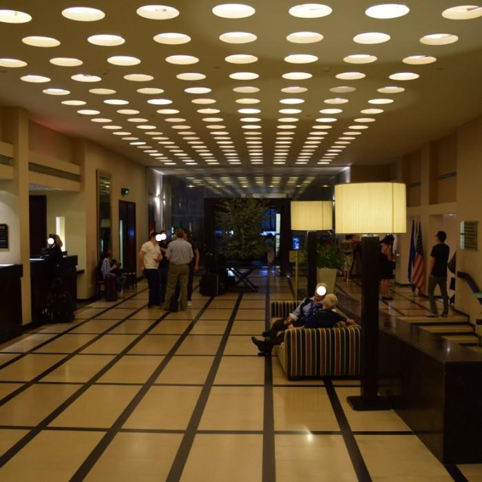 הכניסה למלון מלון דן תל אביב
