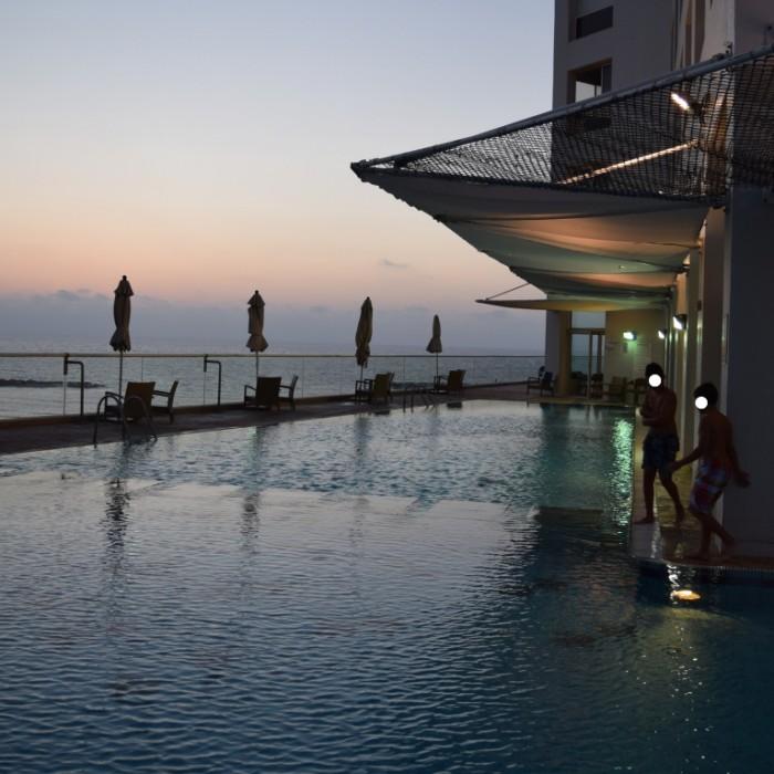 הבריכה מלון דן תל אביב