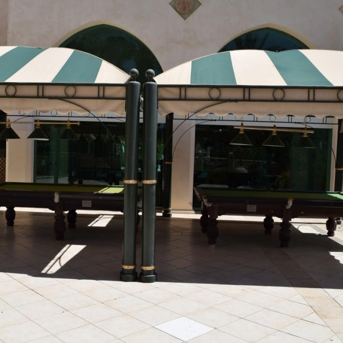 שולחנות סנוקר מלון הרודס פאלאס אילת