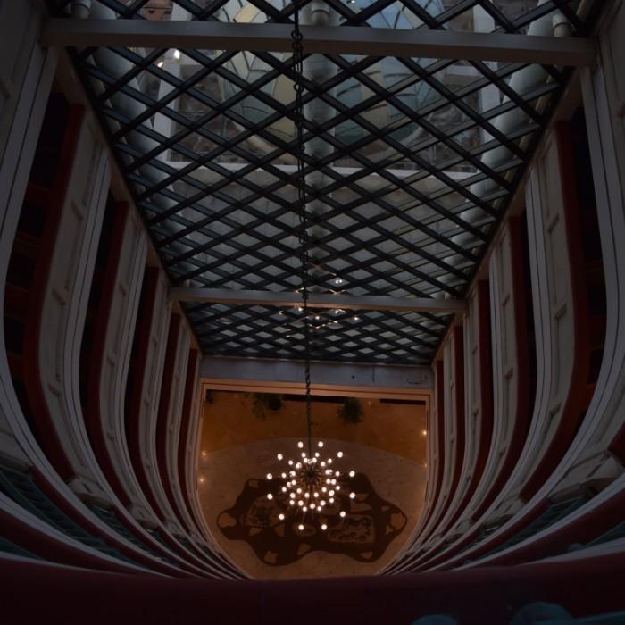 חלל במרכז המלון מלון הרודס פאלאס אילת