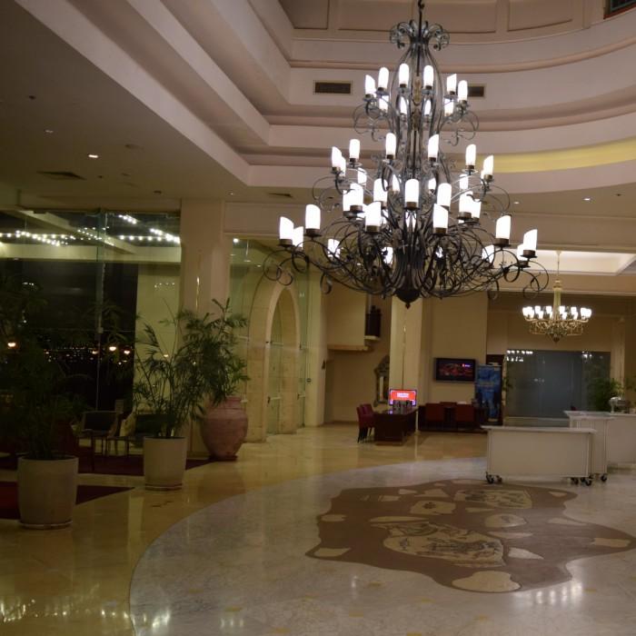 מתחם הלובי מלון הרודס פאלאס אילת