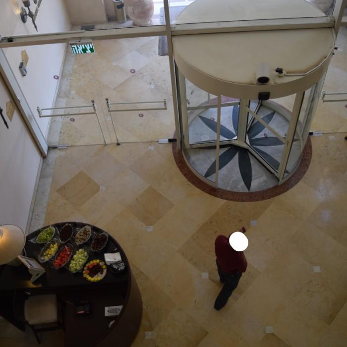 הכניסה למלון מלון הרודס ויטאליס אילת