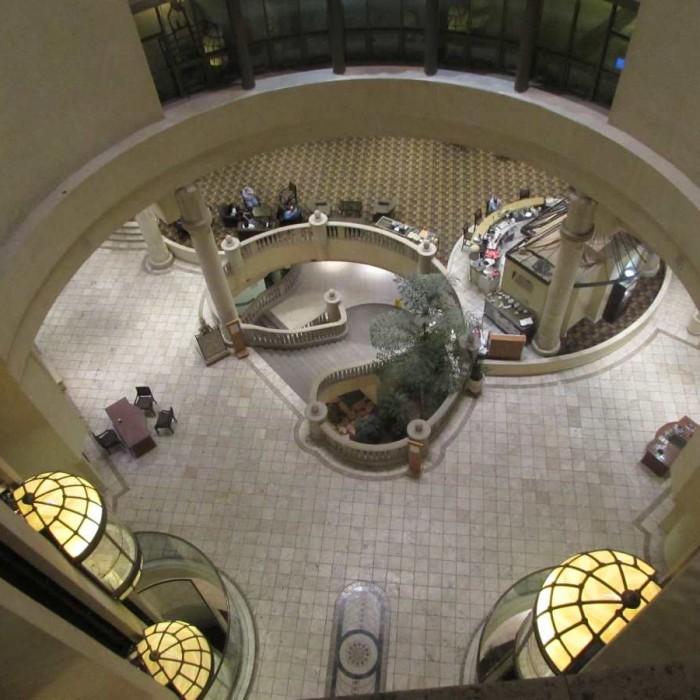 מבט מלמעלה מלון הילטון אילת