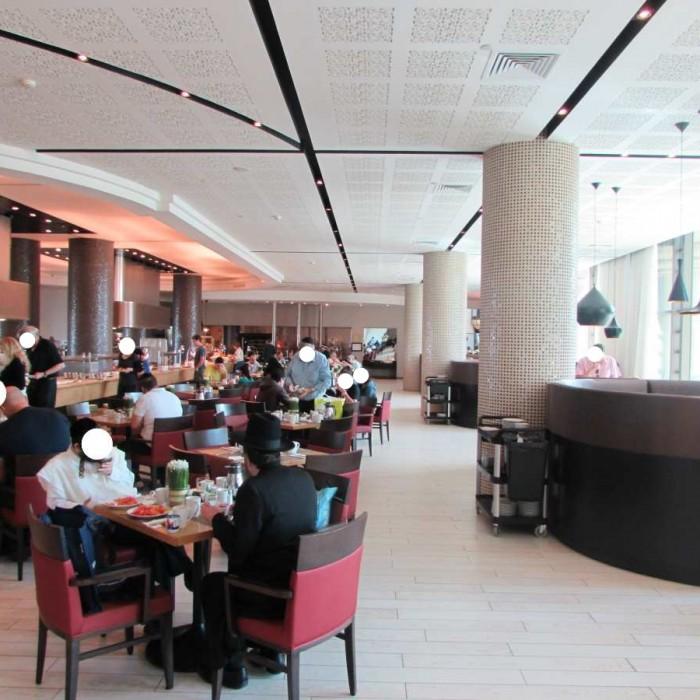 חדר האוכל מלון הילטון מלכת אילת