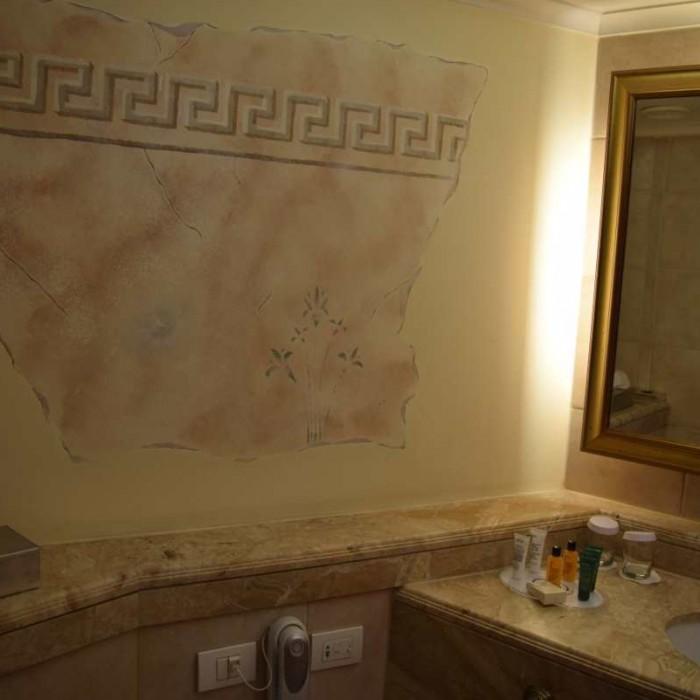 עיטורים בחדר, חלק ממלון קונספט מלון הילטון אילת