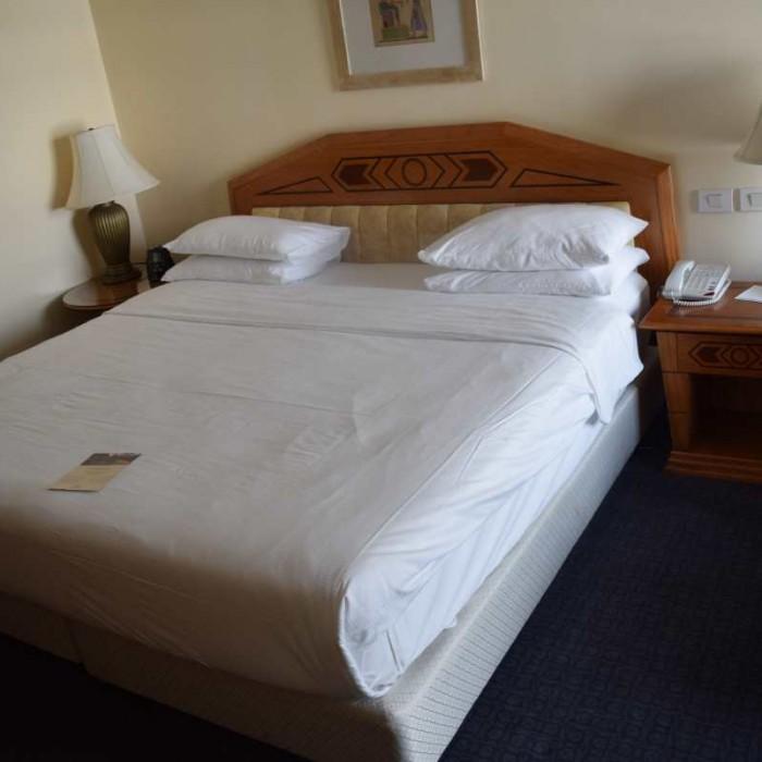 המיטה החדר מלון הילטון אילת