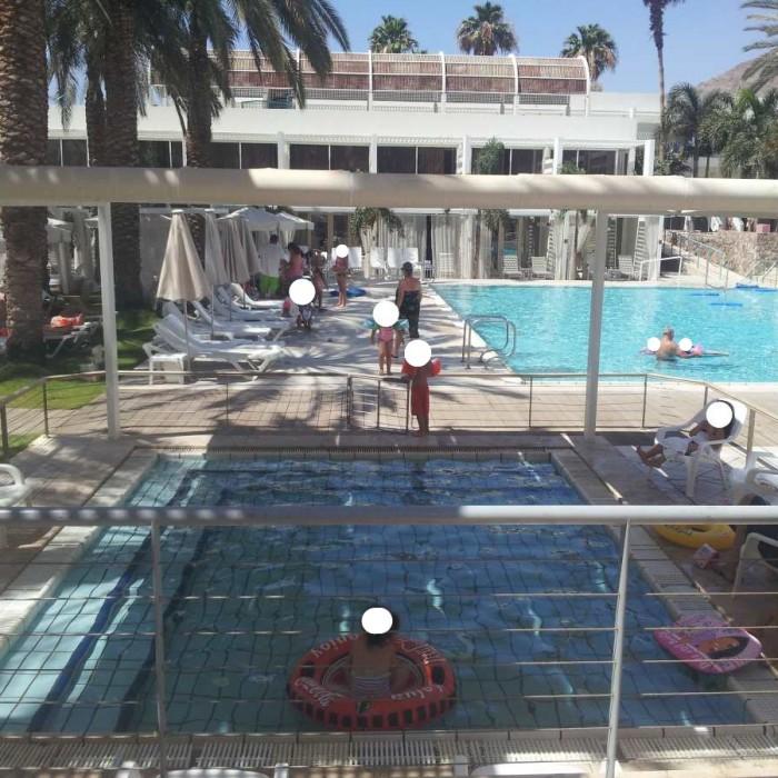 בריכת פעוטות מלון ישרוטל ים סוף אילת