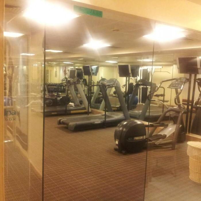 חדר הכושר מלון לאונרדו פריוילג' אילת