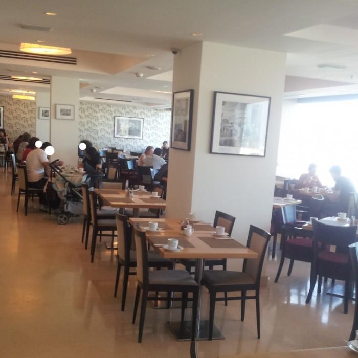 חדר האוכל מלון אורכידאה תל אביב
