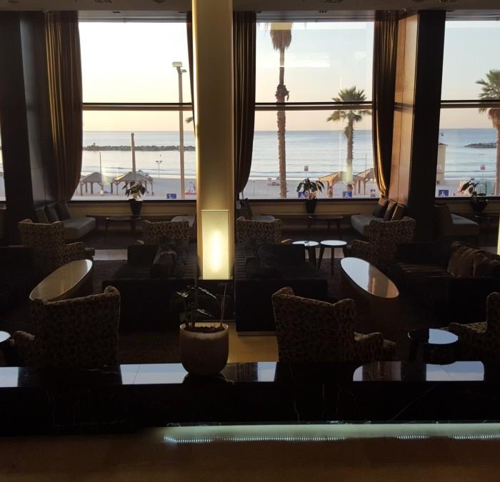 לובי מלון דן תל אביב