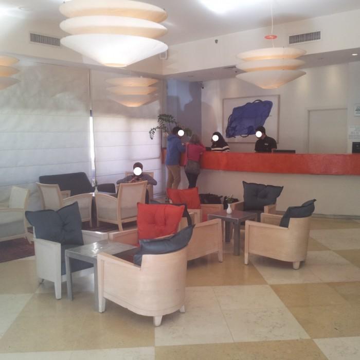 הקבלה והכניסה למלון מלון פרימה סיטי תל אביב
