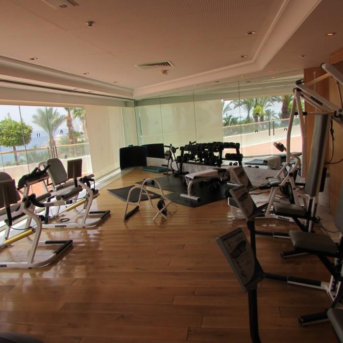 חדר כושר מלון רויאל ביץ אילת