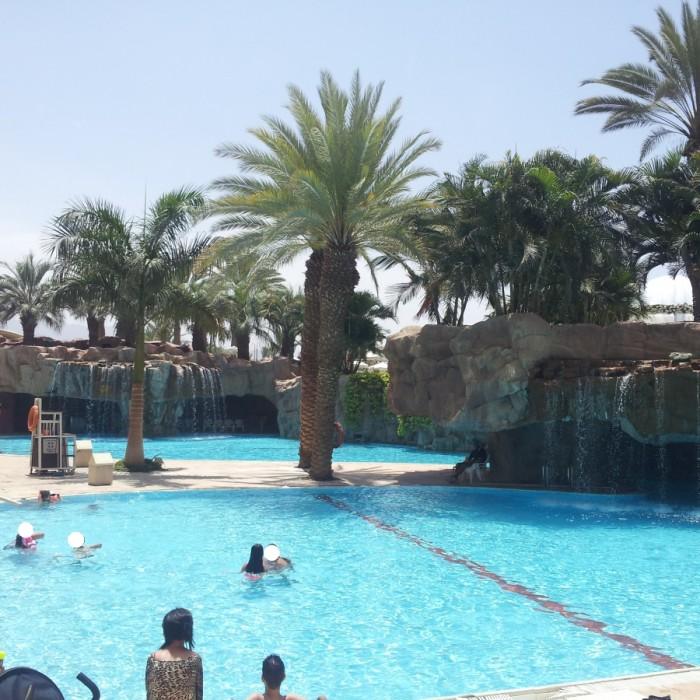 הבריכה מלון רויאל ביץ אילת
