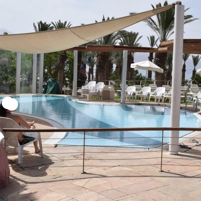 בריכת פעוטות מלון רויאל ביץ אילת