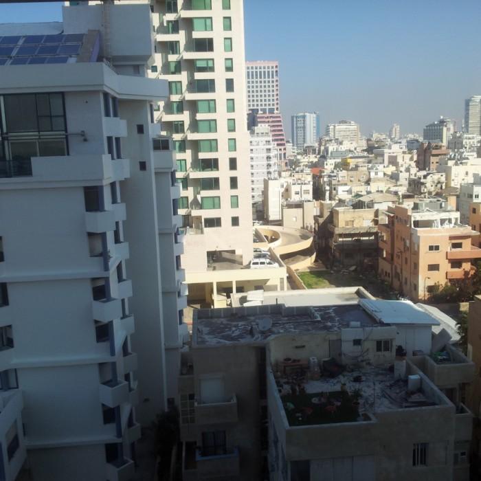 הנוף מהחדר החדר מלון רויאל ביץ תל אביב