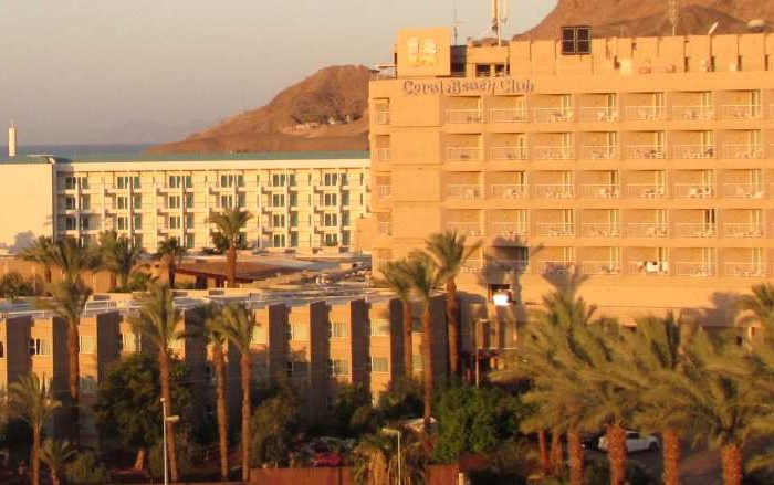 מלון יו קורל ביץ אילת