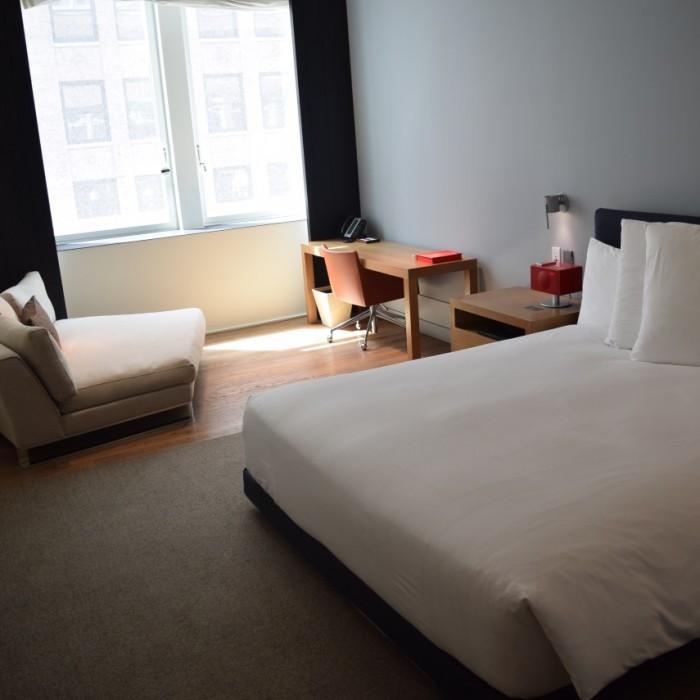החדר מסוג andaz king מלון אנדז השדרה החמישית ניו יורק