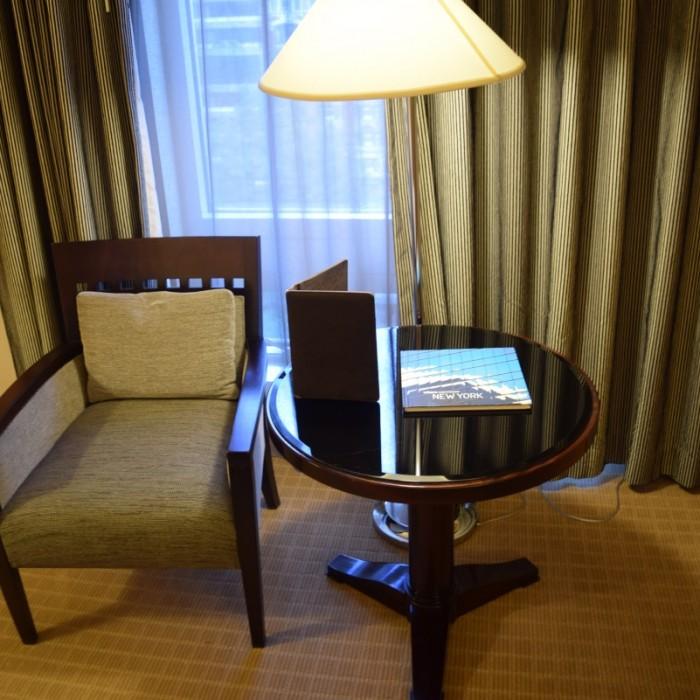 פינת ישיבה מלון סופיטל ניו יורק