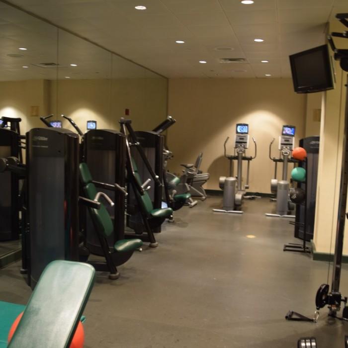 חלק הכוח בחדר הכושר מלון סופיטל ניו יורק