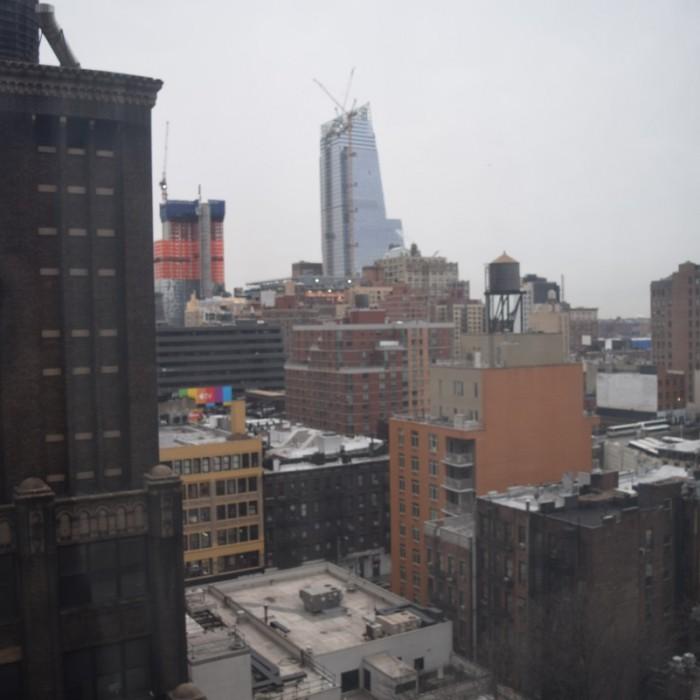 נוף מהחדר (קומה 15) מלון קנדלווד ניו יורק