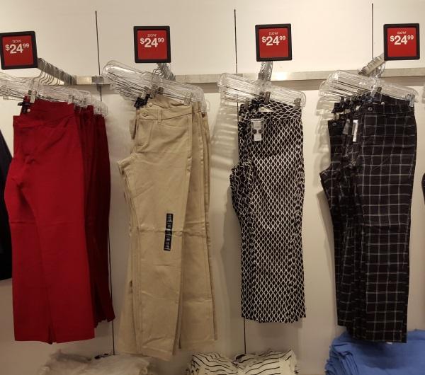 גאפ מכנסיים 25$ גאפ ג'רזי גרדנס