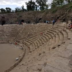 התאטרון הרומי גן לאומי בית שאן