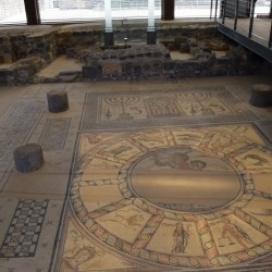 פסיפס בית הכנסת חמת טבריה