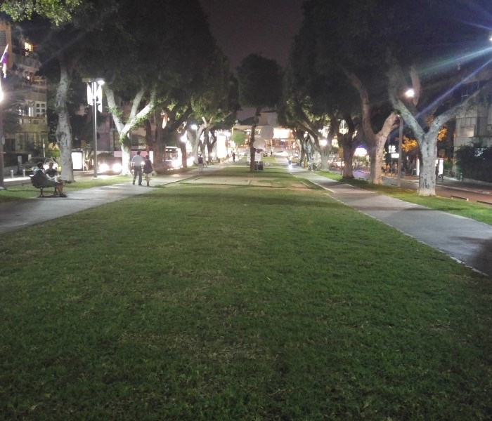LG G4 צילום בלילה