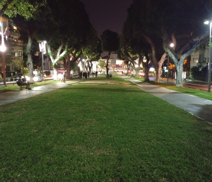LG G5 צילום בלילה