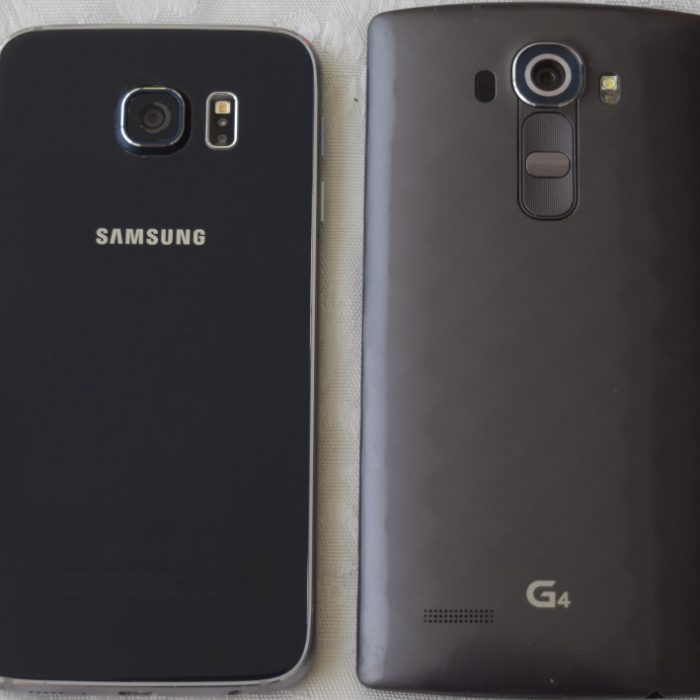המכשירים מאחור גלקסי 6 ו- LG G4